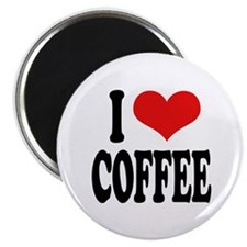 """I Love Coffee 2.25"""" Magnet (100 pack)"""