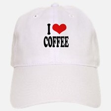 I Love Coffee Baseball Baseball Cap