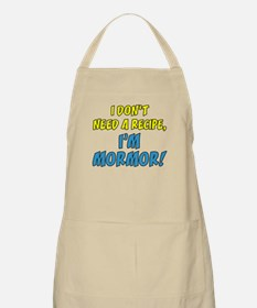 Don't Need A Recipe Mormor Apron