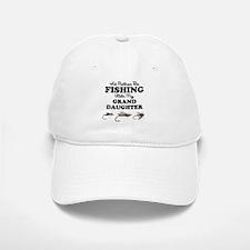 Rather Be Fishing Granddaughter Baseball Baseball Cap