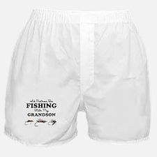 Rather Be Fishing Grandson Boxer Shorts