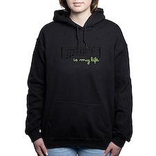 Music Is Life Women's Hooded Sweatshirt