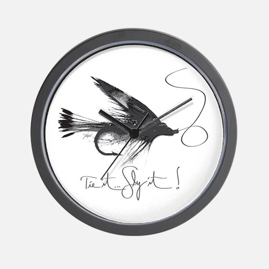 Tie It, Fly It! Wall Clock