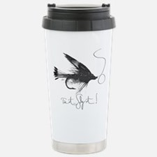 Tie It, Fly It! Stainless Steel Travel Mug