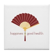 Good Health Tile Coaster