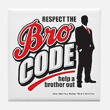 HIMYM Bro Code Tile Coaster