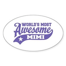 World's Most Awesome Mimi Decal