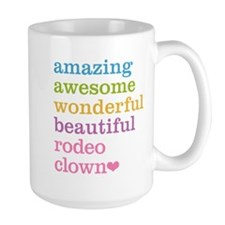 Rodeo Clown Mugs