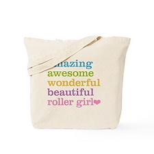 Roller Girl Tote Bag