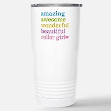 Roller Girl Stainless Steel Travel Mug