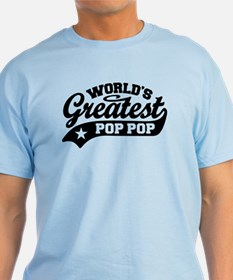 World's Greatest Pop Pop T-Shirt