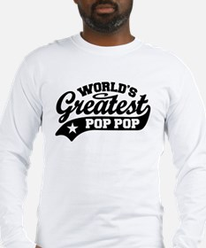 World's Greatest Pop Pop Long Sleeve T-Shirt