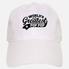 World's Greatest Pop Pop Baseball Baseball Cap