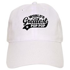 World's Greatest Pop Pop Baseball Cap