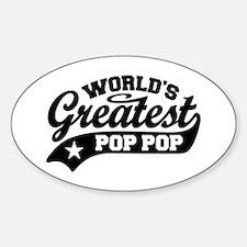 World's Greatest Pop Pop Decal
