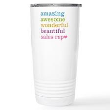 Awesome Sales Rep Thermos Mug