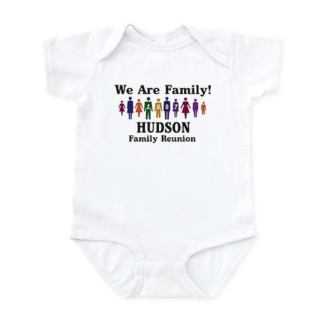 HUDSON reunion (we are family Infant Bodysuit