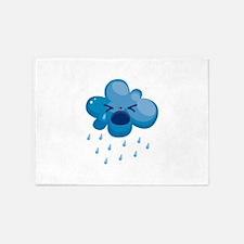 Raining cry 5'x7'Area Rug