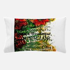 Unto to us a Child is born modern desi Pillow Case