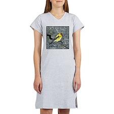 goldfinch.tif Women's Nightshirt