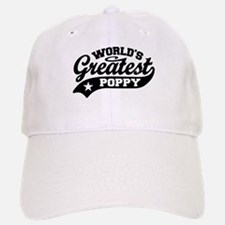 World's Greatest Poppy Baseball Baseball Cap