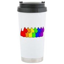 Cute Scottish terrier Travel Mug