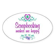 Scrapbooking Happy Decal
