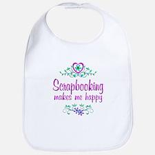 Scrapbooking Happy Bib