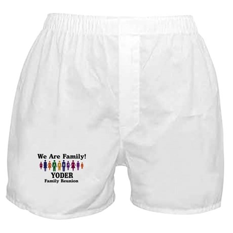 YODER reunion (we are family) Boxer Shorts