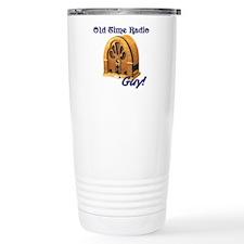 Cute Old time radio Travel Mug