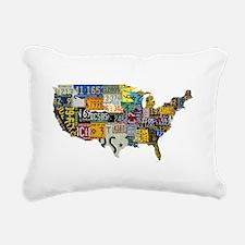 america license Rectangular Canvas Pillow