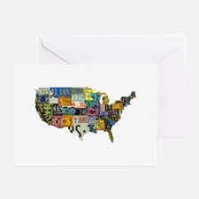 america license Greeting Cards (Pk of 20)