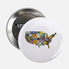 "america license 2.25"" Button (100 pack)"