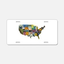 america license Aluminum License Plate