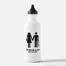 Zombie Wedding Water Bottle