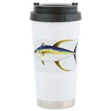 Cute Blue marlin Travel Mug