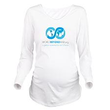 World Beyond War Long Sleeve Maternity T-Shirt