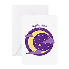Nighty Night Greeting Cards