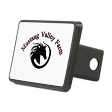 Mustang Valley Farm Logo Hitch Cover