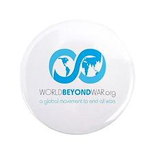 """World Beyond War 3.5"""" Button"""