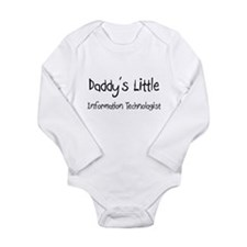 Cute Computer Long Sleeve Infant Bodysuit