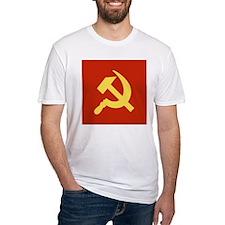 Red Hammer & Sickle Shirt