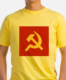 Red Hammer & Sickle T