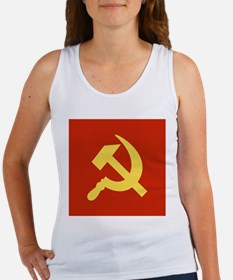 Red Hammer & Sickle Women's Tank Top