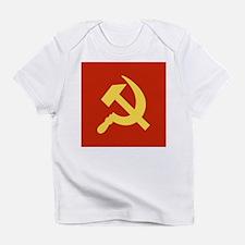 Red Hammer & Sickle Infant T-Shirt
