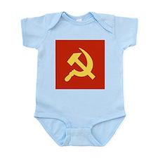 Red Hammer & Sickle Infant Bodysuit