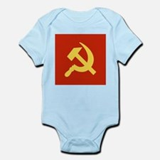 Red Hammer & Sickle Infant Bodysuit