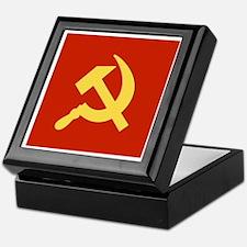 Red Hammer & Sickle Keepsake Box