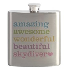 Awesome Skydiver Flask