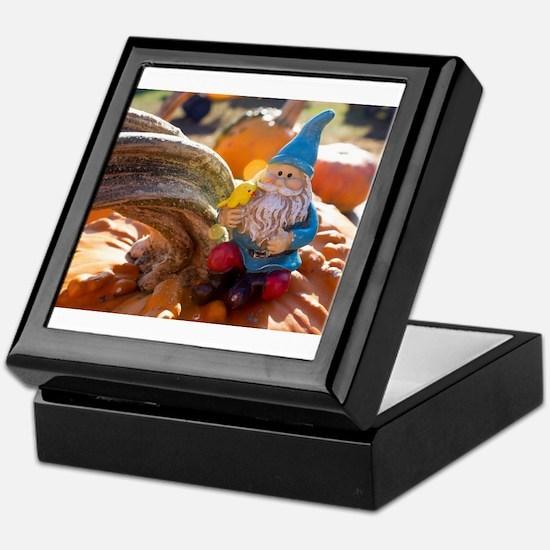 Gnome Stem Keepsake Box
